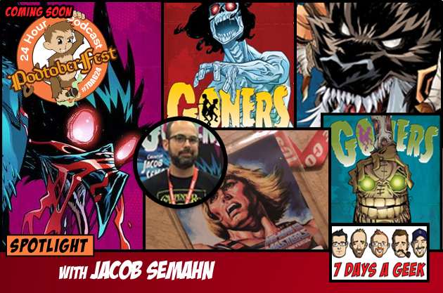 SPOTLIGHT: Jacob Semahn Writer of Goners, Spider-man, and Avengers