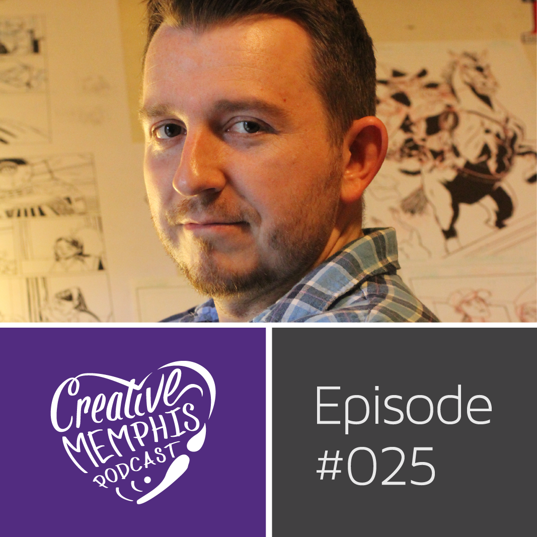 Episode #025: Shane McDermott, Illustrator | MCA