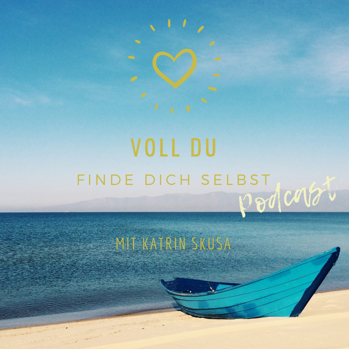 voll du - finde dich selbst - Podcast show art