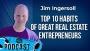 Artwork for Top  10 Habits of Great Real Estate Entrepreneurs