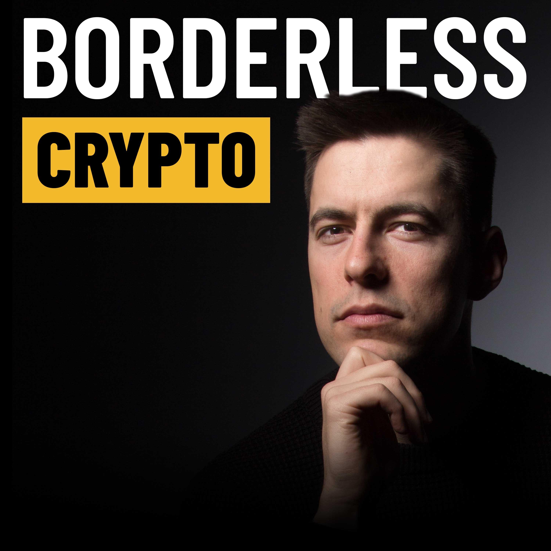 Borderless Crypto show art