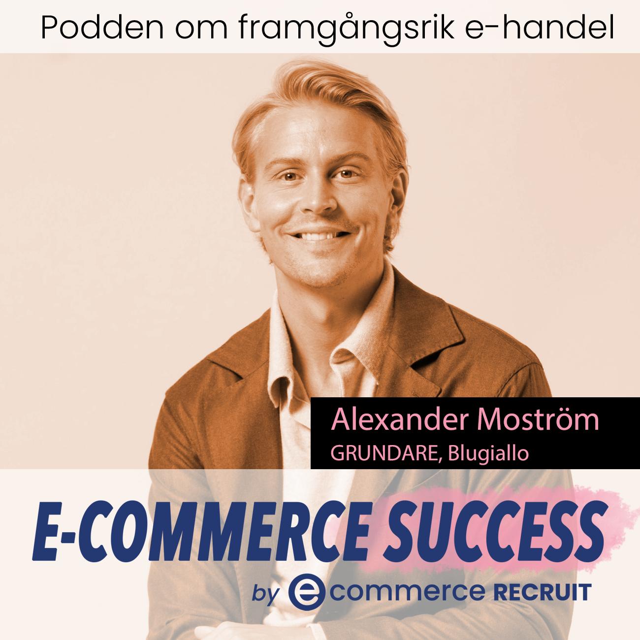 Alexander Moström, CEO och Grundare till Blugiallo