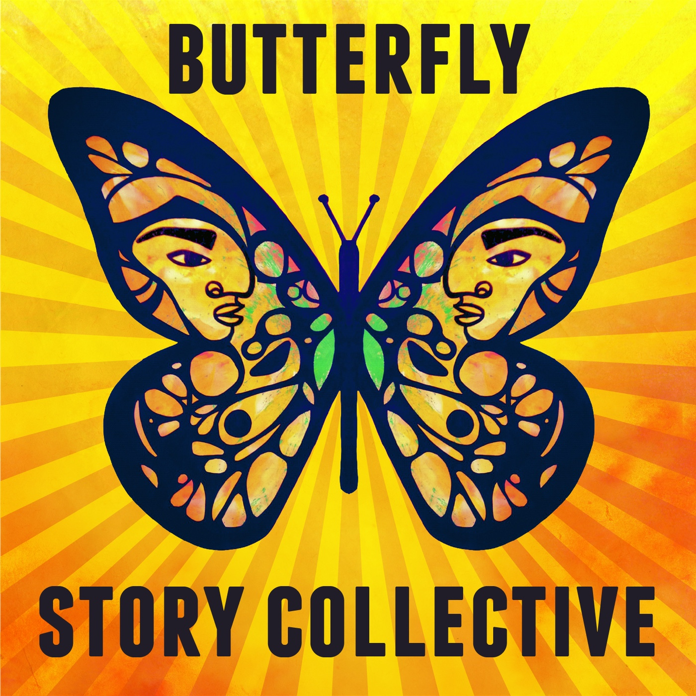 Butterfly Story Collective Podcast show art
