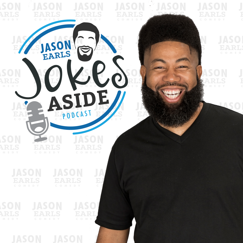 Jason Earls Jokes Aside show art