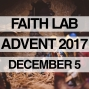 Artwork for Advent Devotion December 5, 2017
