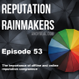 Artwork for #53 - The importance of offline and online reputation congruence