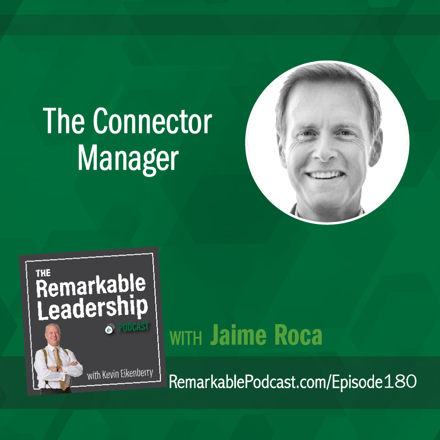The Connector Manager with Jaime Roca show art