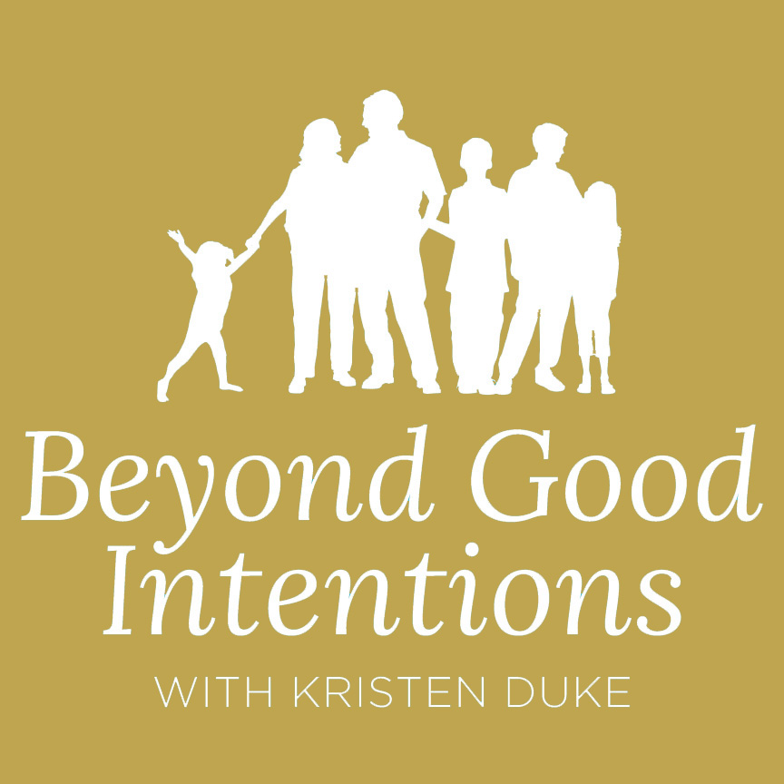 Beyond Good Intentions with Kristen Duke show art