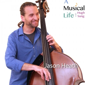 Jason Heath, host of Contrabass Conversations