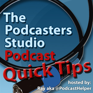 Podcast Quick Tips - A Logo for Your Podcast
