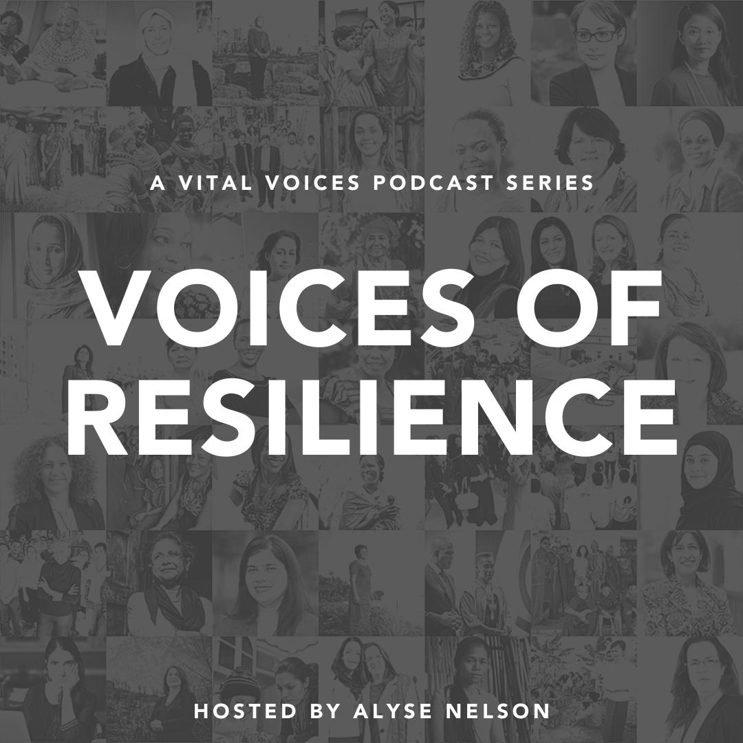Vital Voices Podcast show art