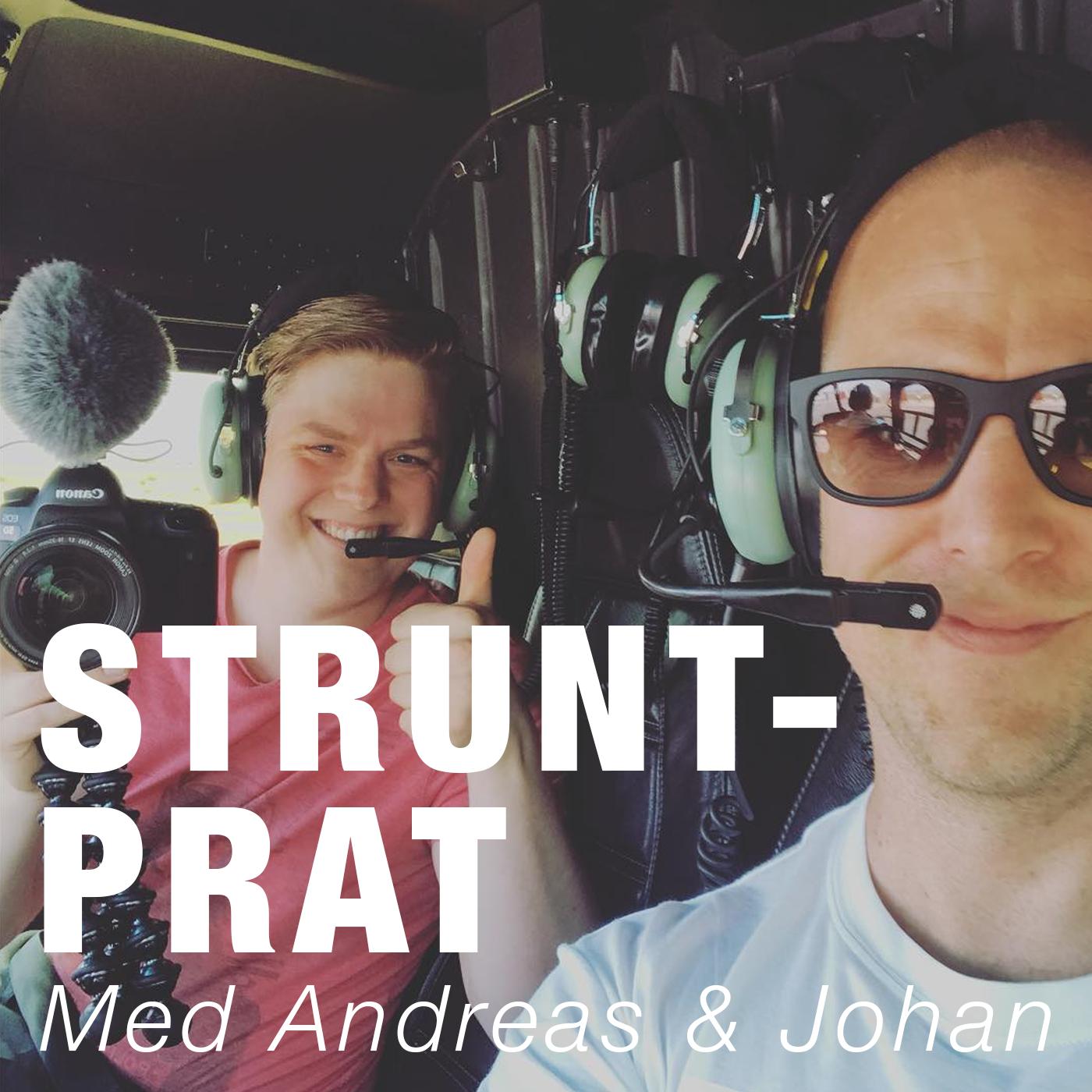 Struntprat med Andreas & Johan show art