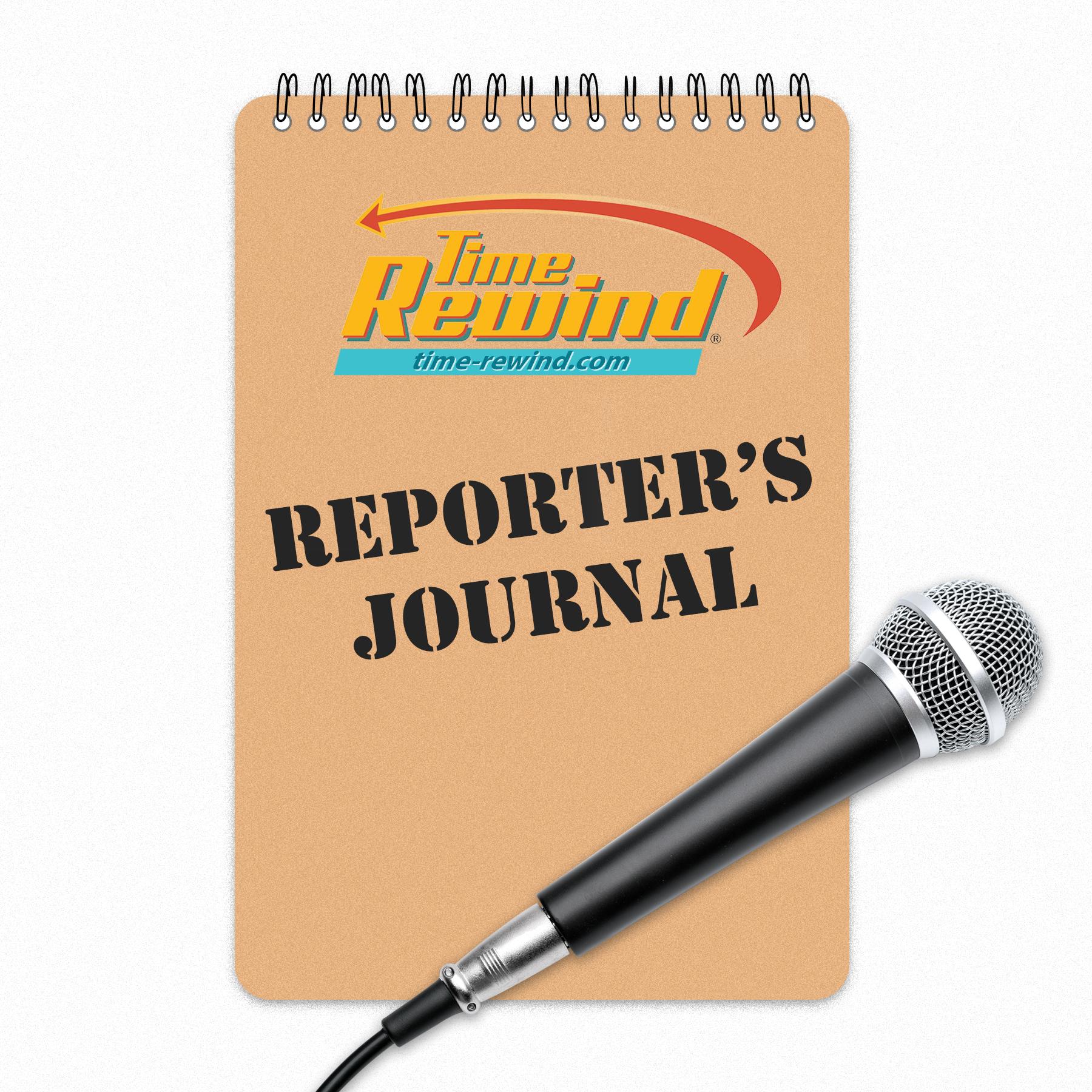 Time Rewind Reporter's Journal show art