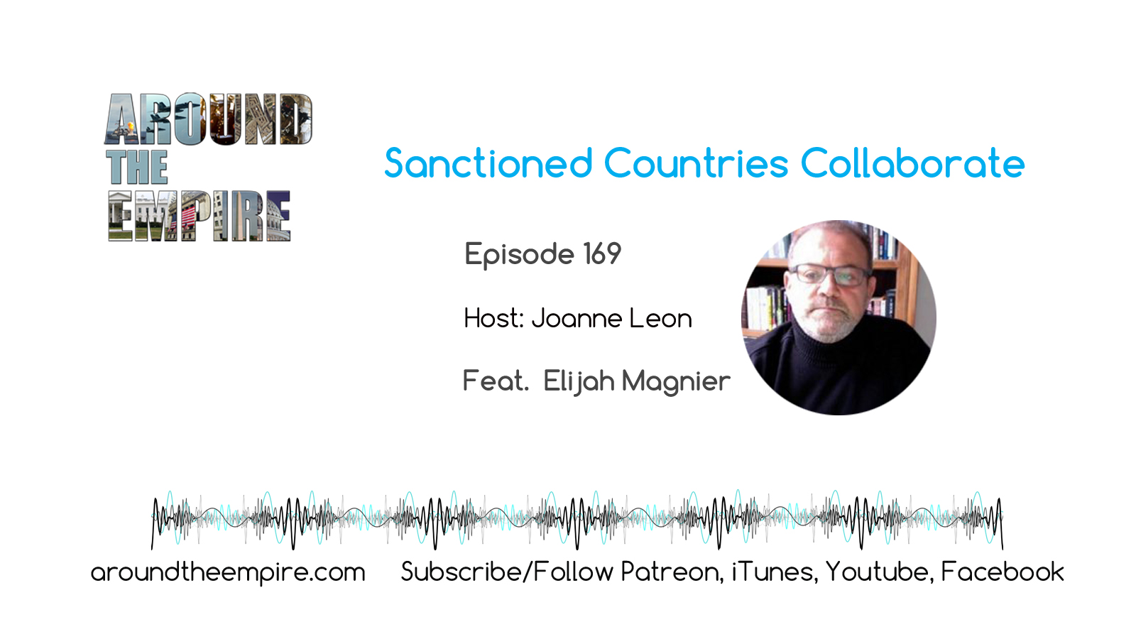Ep 169 Sanctioned Countries Collaborate feat Elijah Magnier