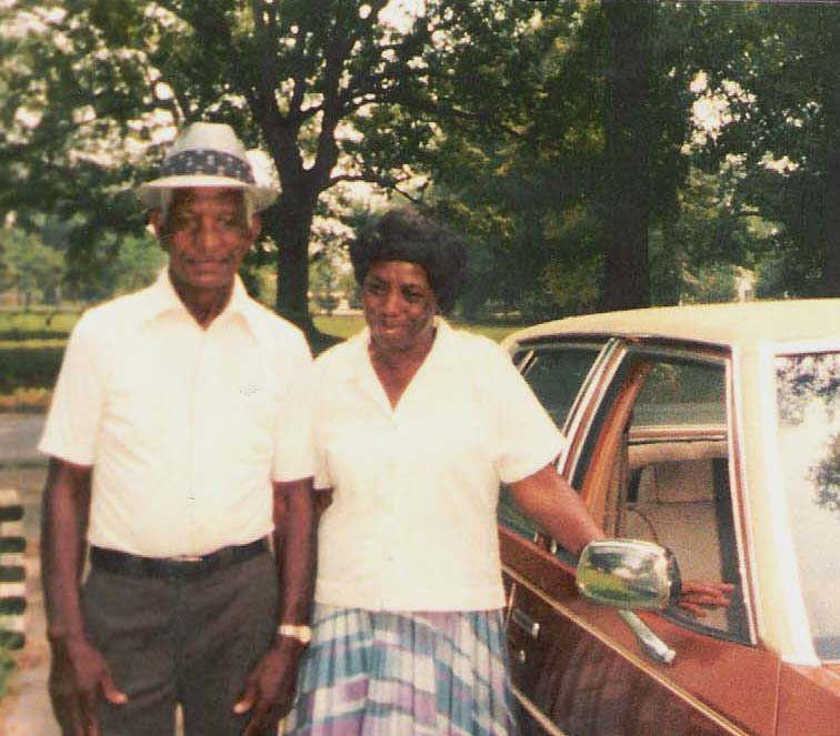 My Grandfather, Ras Arnold and My Grandmother, Arine Arnold, The Grandaugther of Papa Turner & the Daughter of Pop Bennie & Mama Will