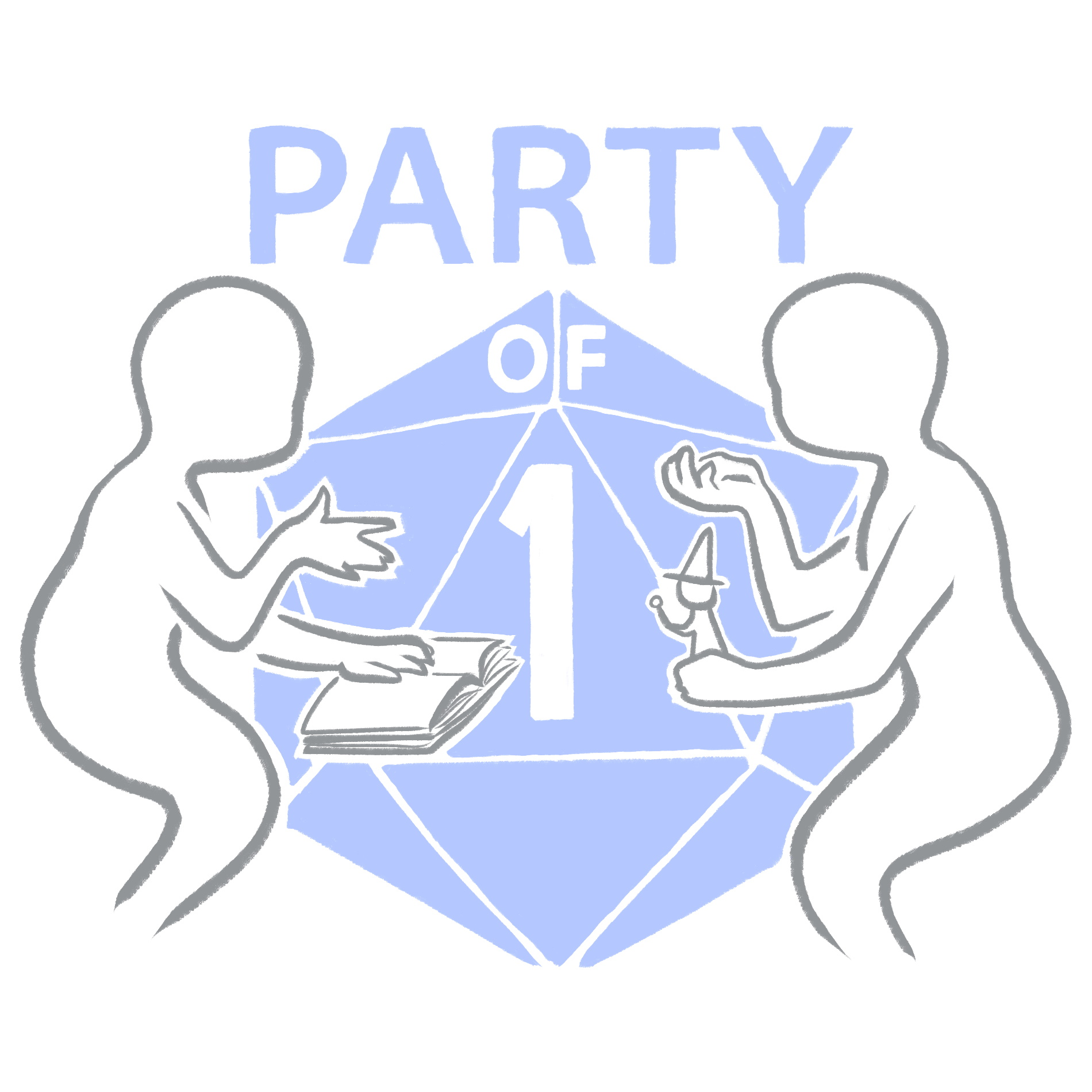 Party of One Podcast show art