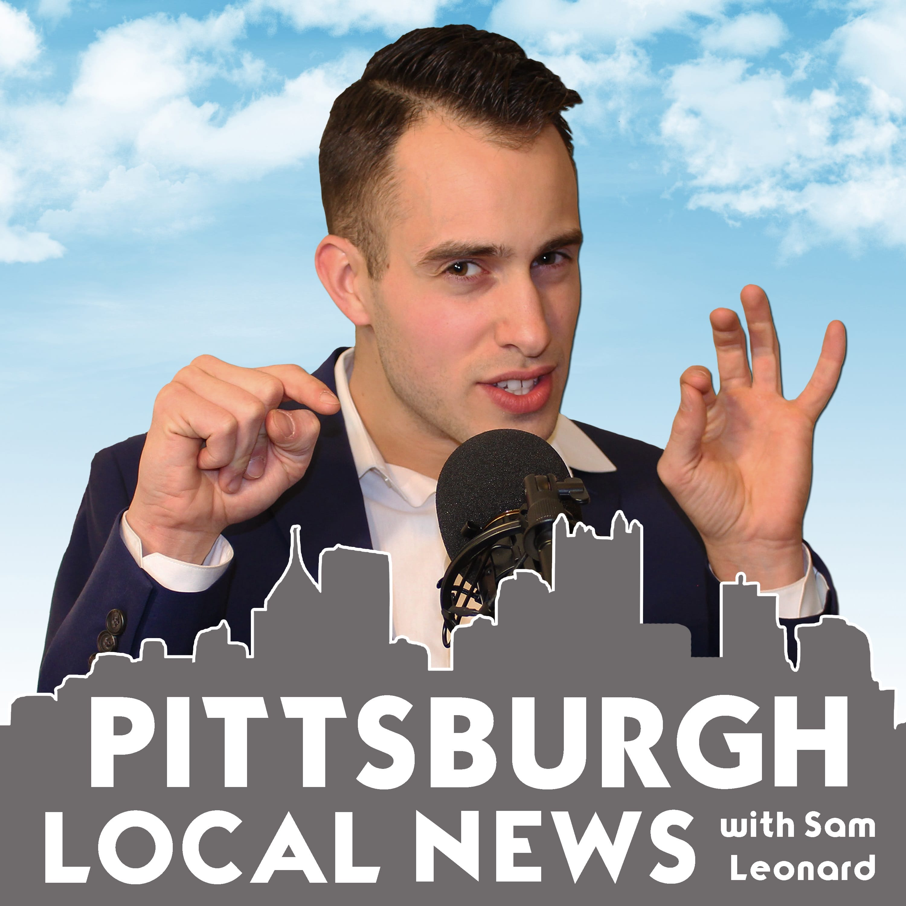 Pittsburgh Local News with Sam Leonard show art