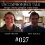 Artwork for Uncompromised Talk with Keith Knight and Ron Renaud