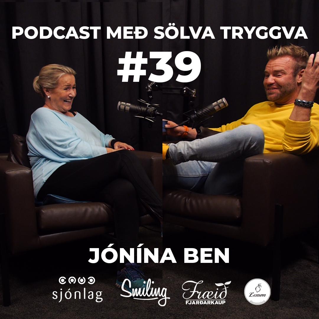 #39 Jónína Ben með Sölva Tryggva