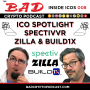 Artwork for ICO Spotlight #8 - Zilla, SpectivVR, Build1X