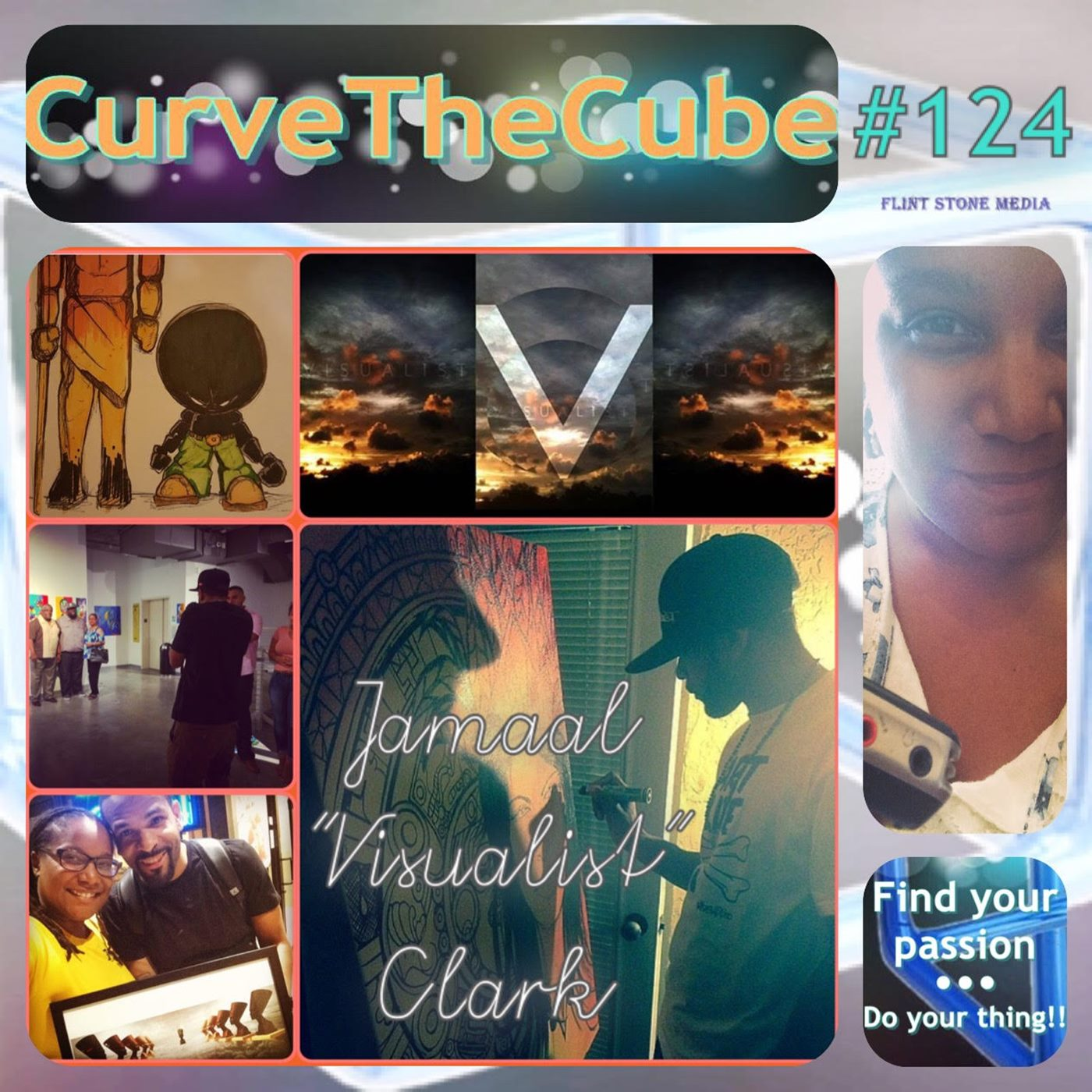 "Jamaal ""Visualist"" Clark on His Second Curve the Cube Podcast Appearance"