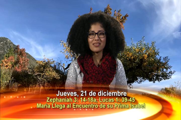 Artwork for Dios te Habla con Jessica De La Torre;  Tema el hoy: Maria llega al encuentro de su prima Isabel, sin demora