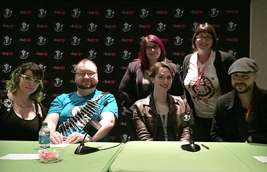 How to be a Nerd for a Living Panel from Emerald City Comicon 2016