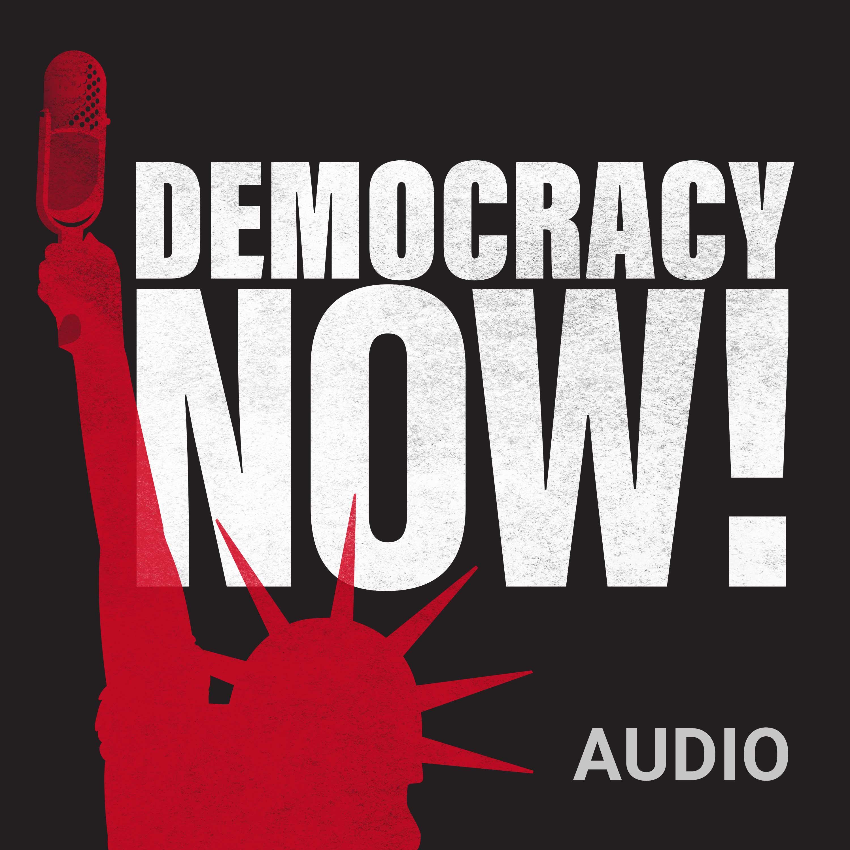 Democracy Now! Audio logo