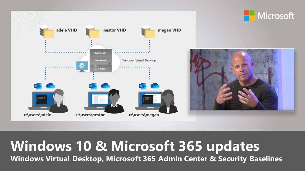 Artwork for New Windows 10 and Office 365 management and user experiences (2019)