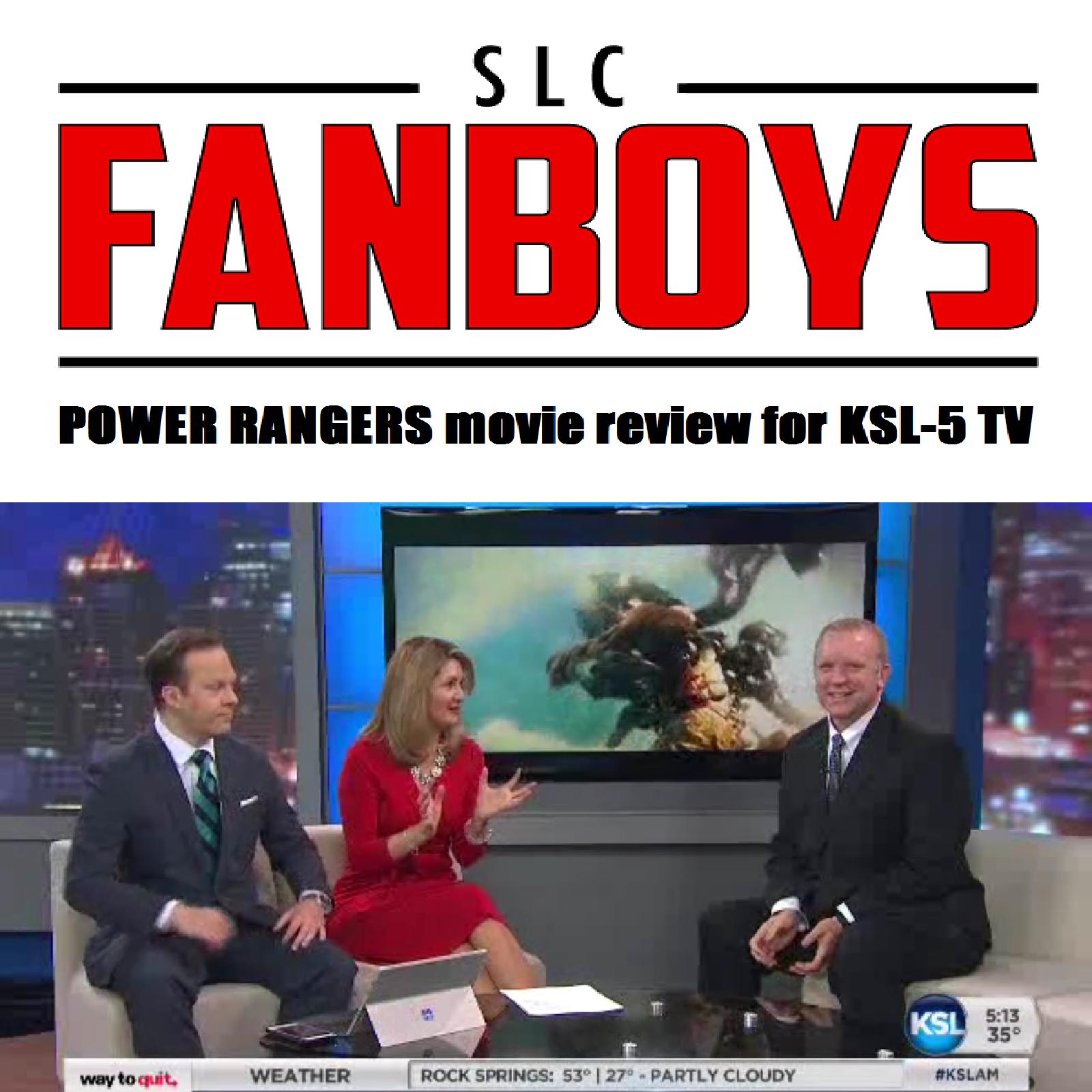 """Artwork for VIDEO: """"Power Rangers"""" movie review for KSL-5 TV (SPOILER FREE)"""