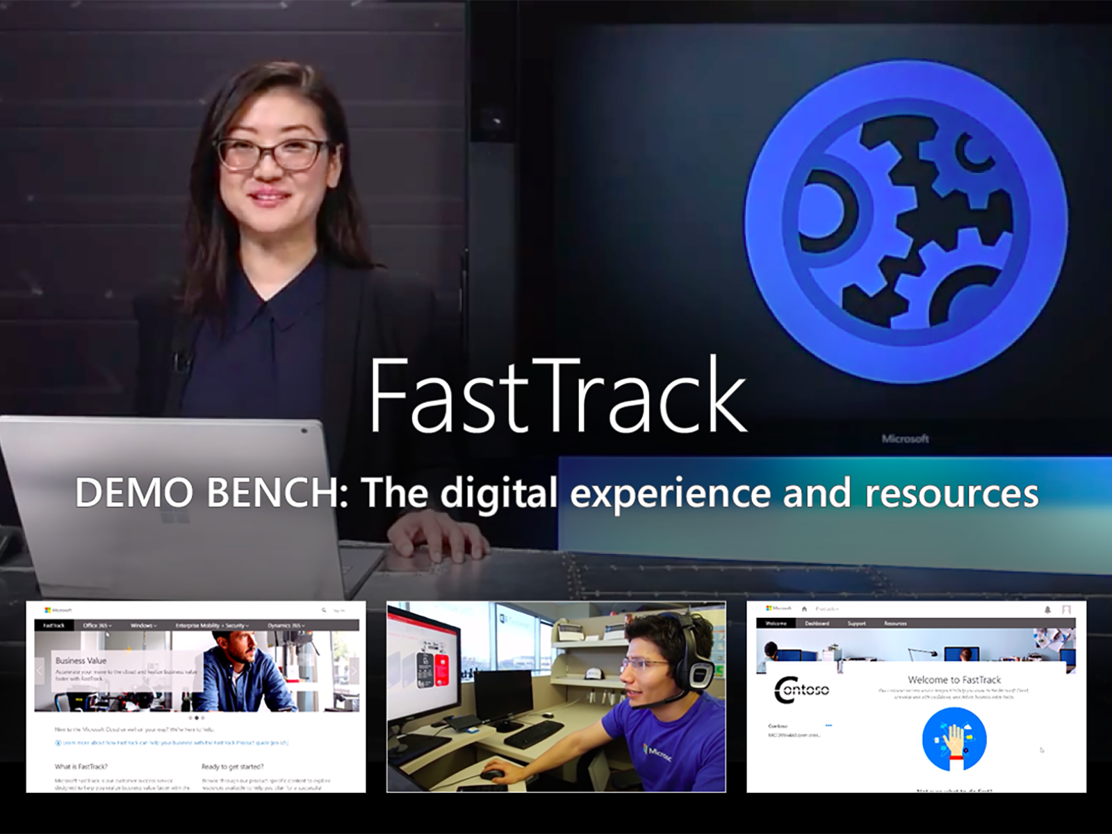 Artwork for An overview of the  FastTrack digital experience and resources