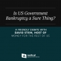 Artwork for 540-Is US Government Bankruptcy a Sure Thing? A Friendly Debate with David Stein, Host of Money for the Rest of Us