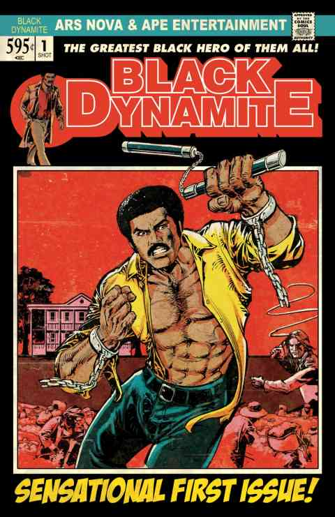 Black Dynamite panel!