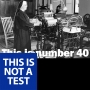 Artwork for The Guerilla Poetics Project - THIS IS NOT A TEST #40