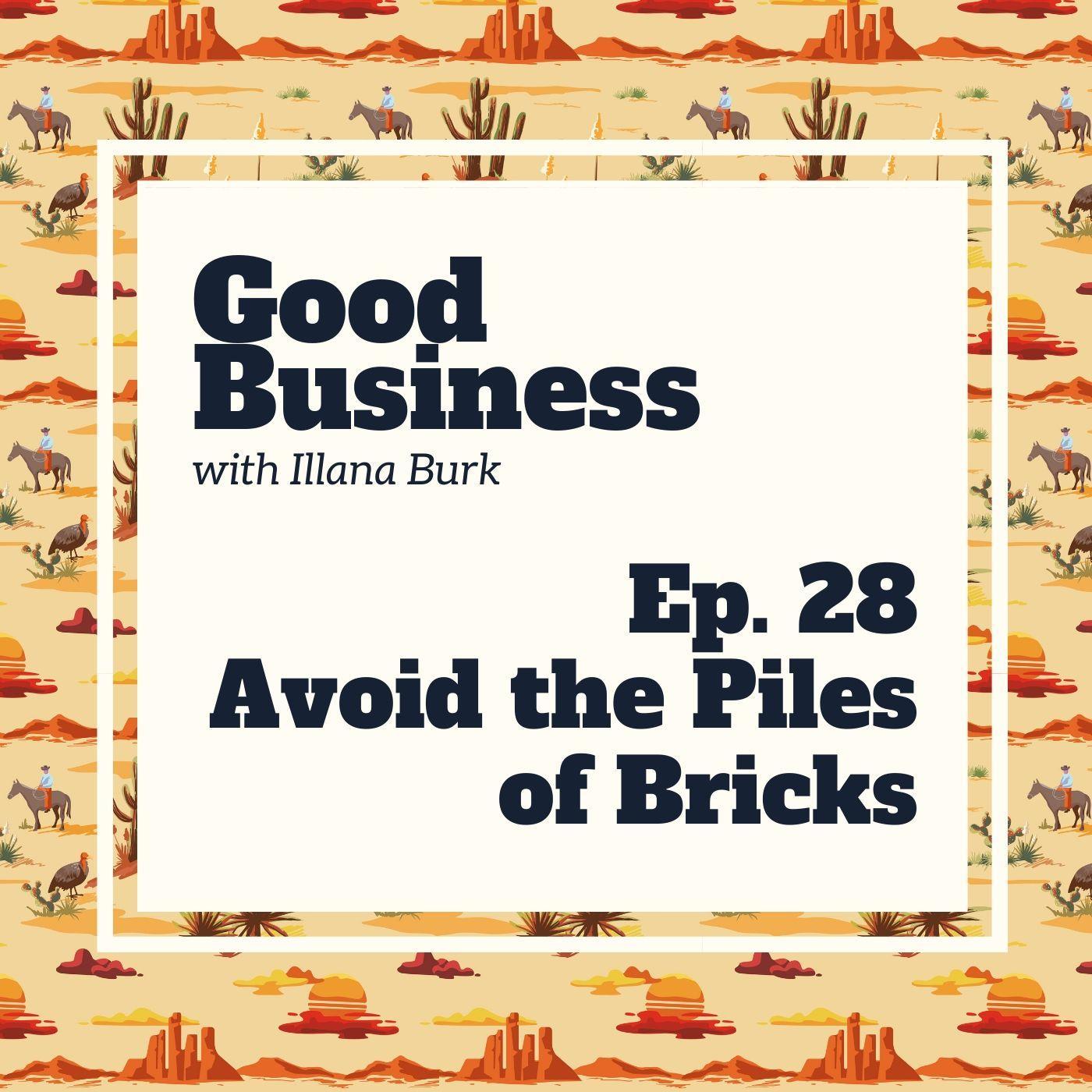Avoid the piles of bricks. | GB28