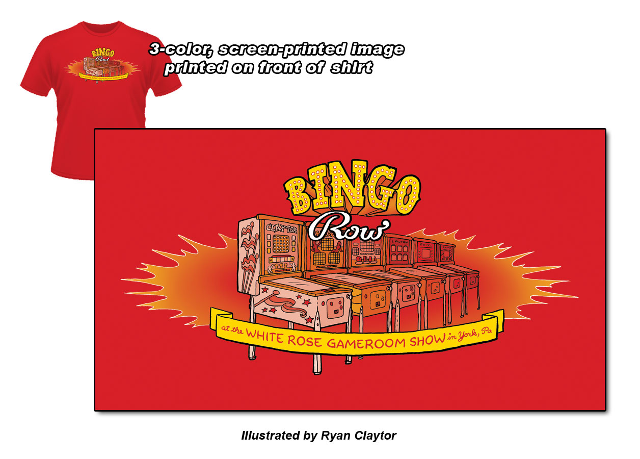 Bingo Row T-shirt!