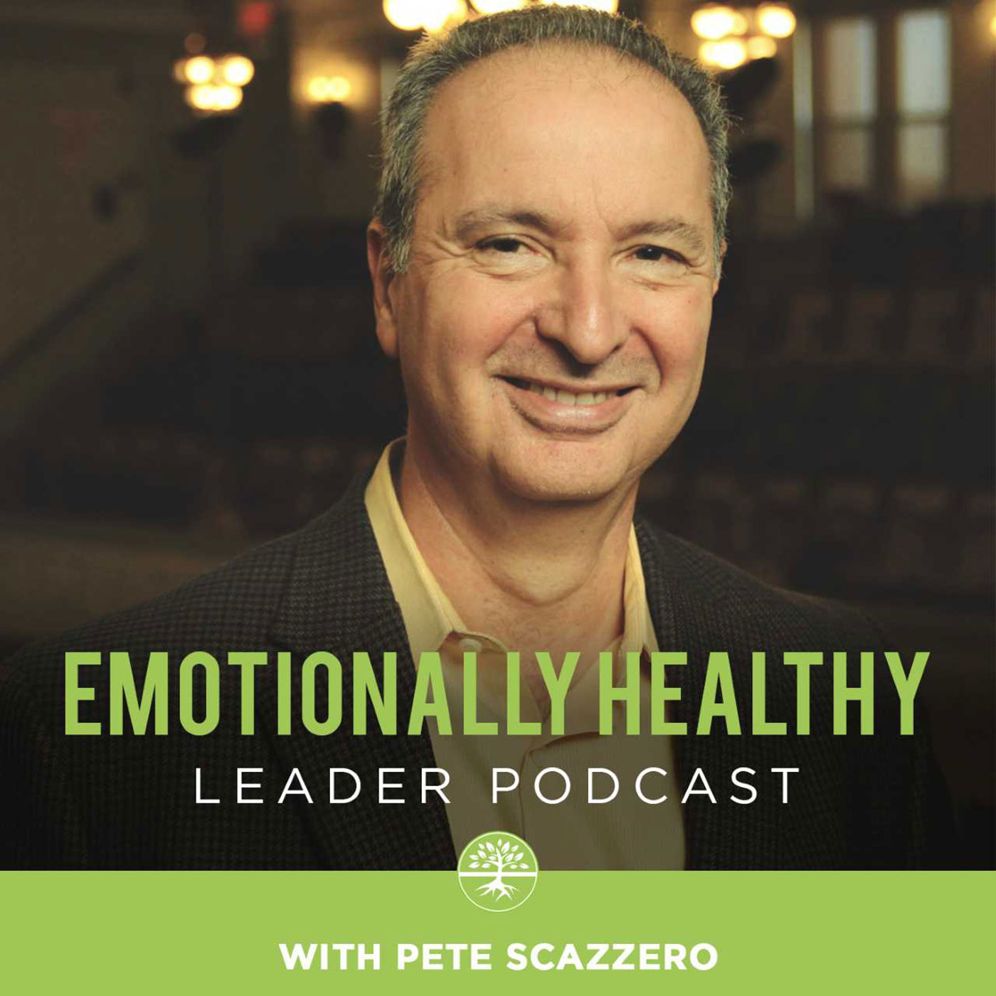 The Emotionally Healthy Leader Podcast show art