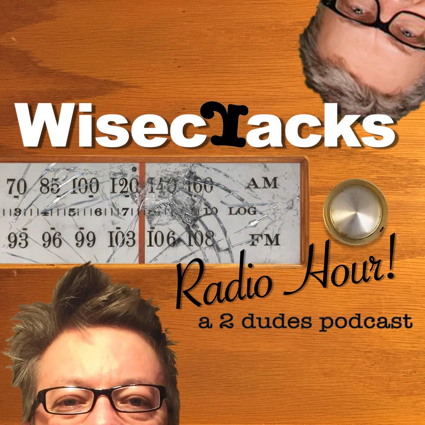 Wisecracks Radio Hour! show art