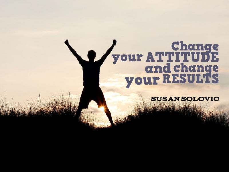 """Change your Attitude"" with Susan Solovic"