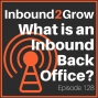Artwork for Episode 128: What is an Inbound Back Office and Why Does it Matter?