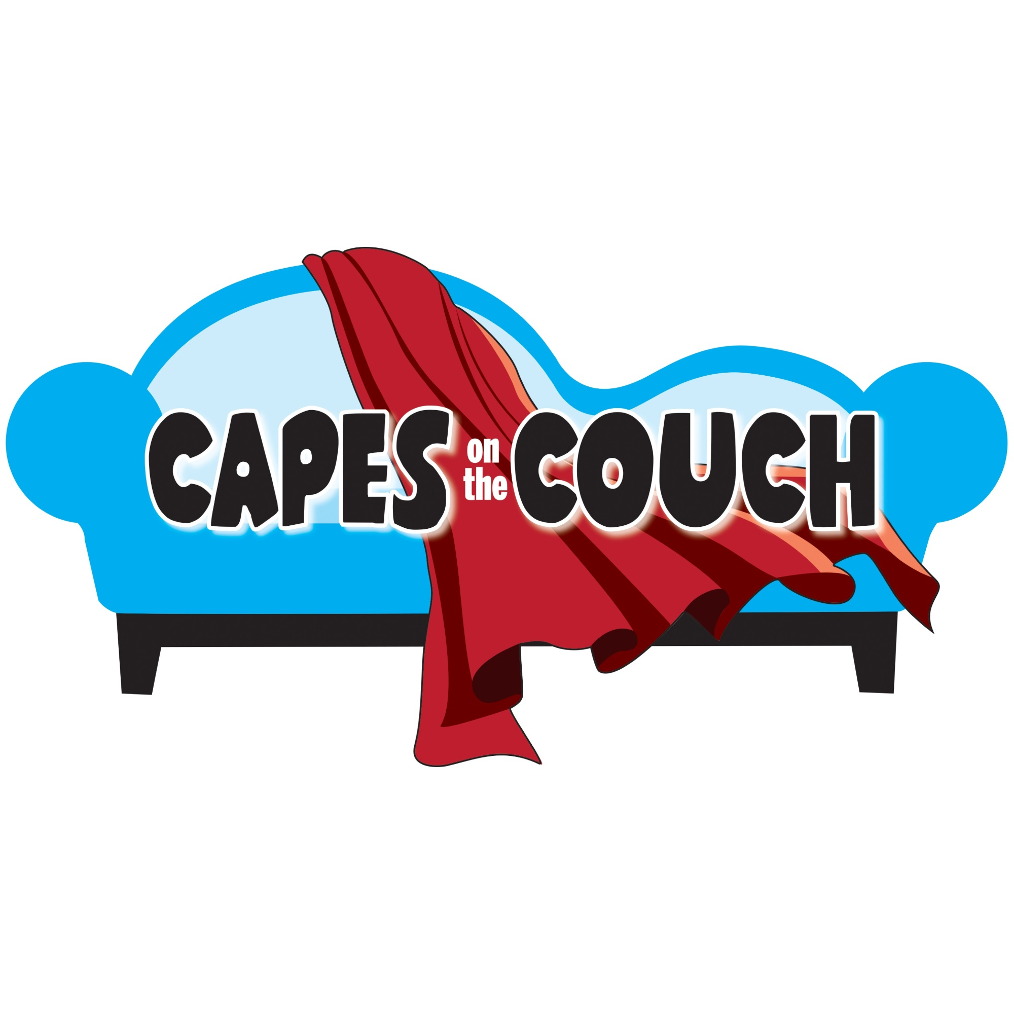 Capes On the Couch - Where Comics Get Counseling show art