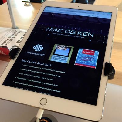 Mac OS Ken: 03.11.2015