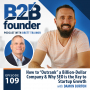 """Artwork for 109. How to """"Outrank"""" a Billion-Dollar Company & Why SEO is the Key to Startup Growth with Damon Burton"""
