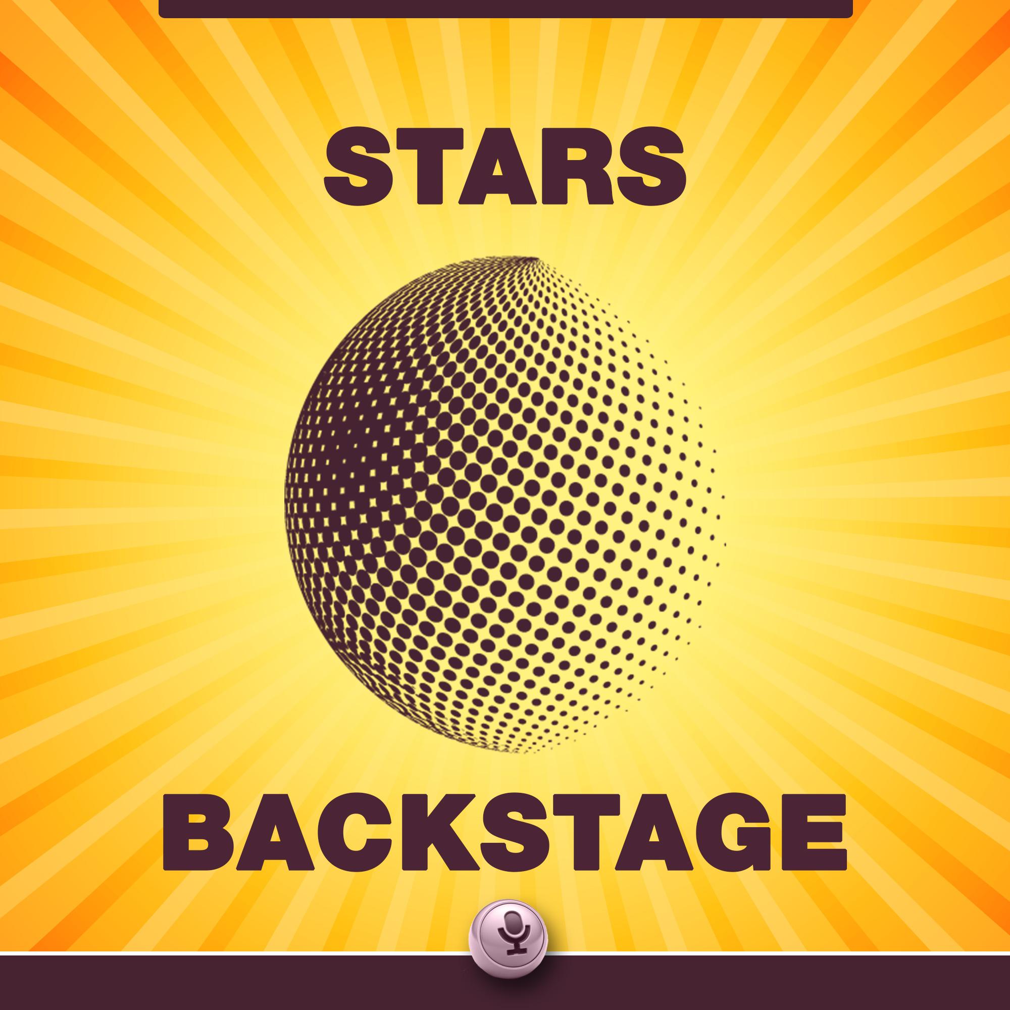 Stars Backstage's podcast show art