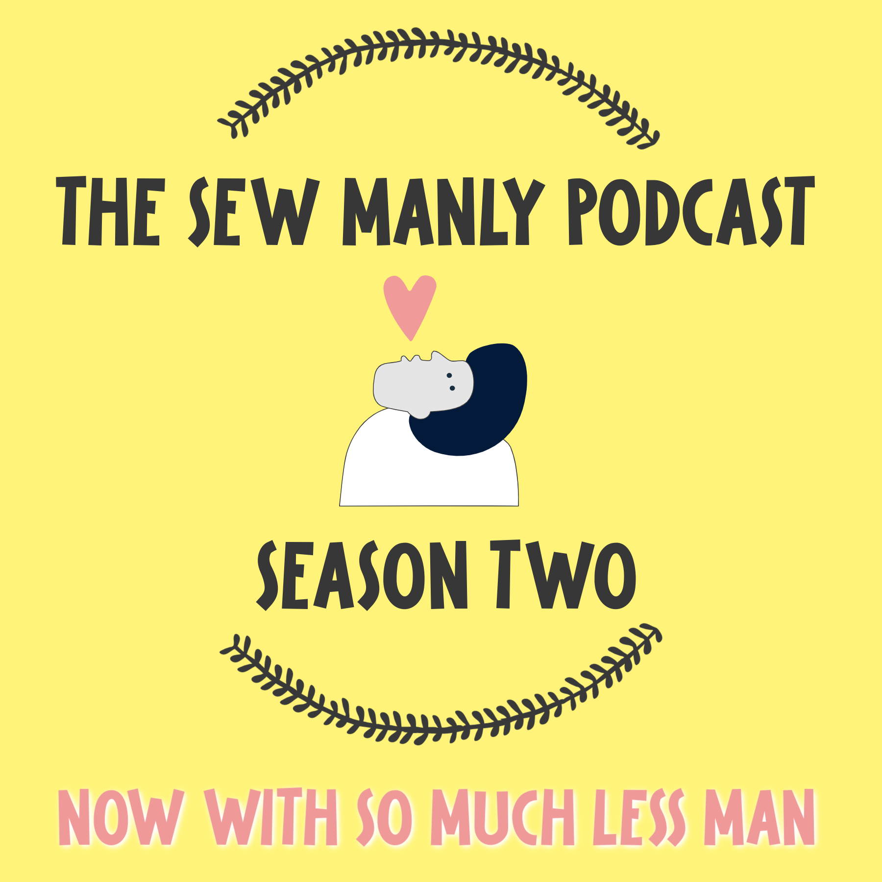 The Sew Manly Podcast show art