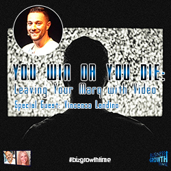 57  - You Win or You Die: Leaving Your Marq with Video  Special Guest: Vincenzo Landino