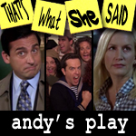 "Episode # 100 -- ""Andy's Play"" (10/7/10)"