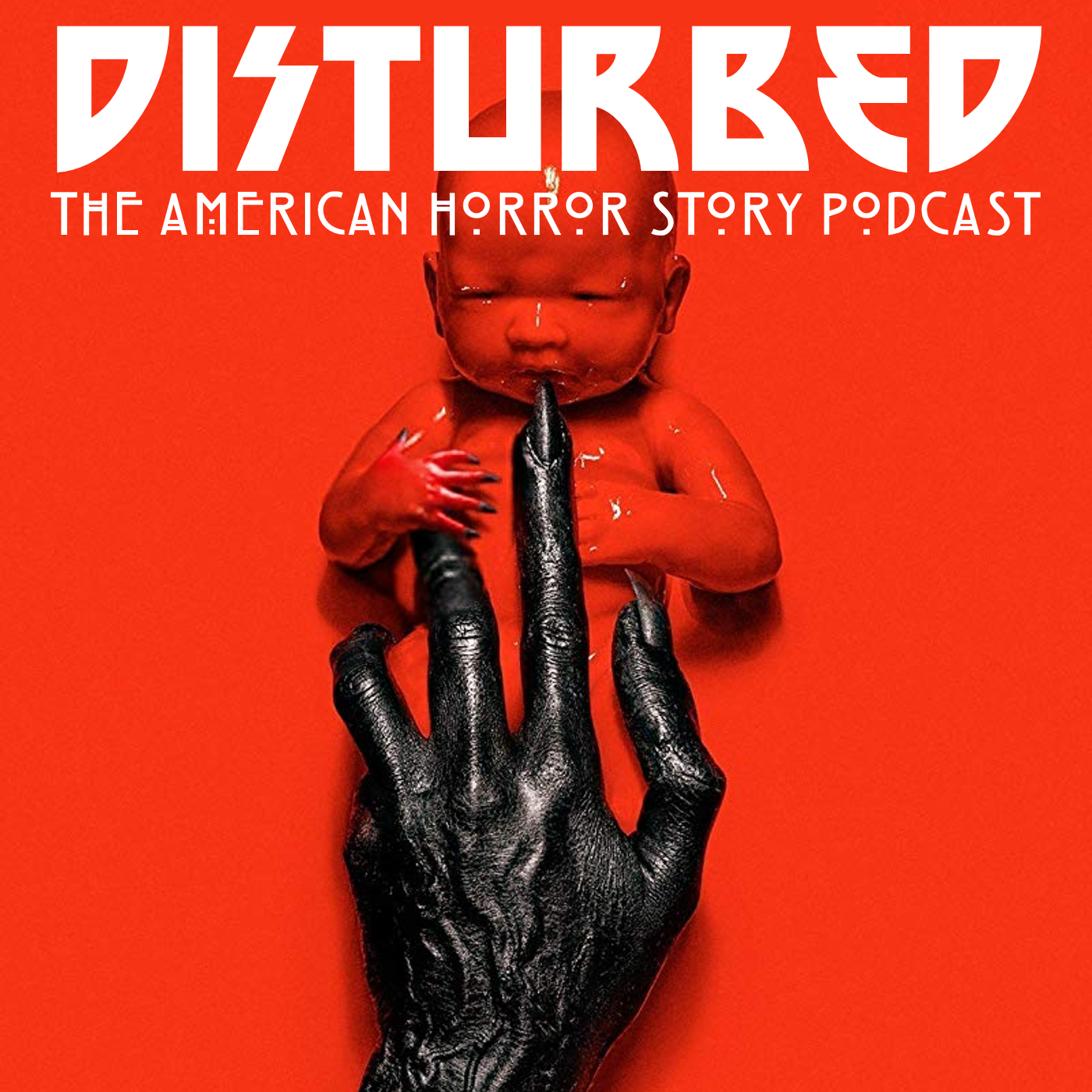 Disturbed: The American Horror Story Podcast show art