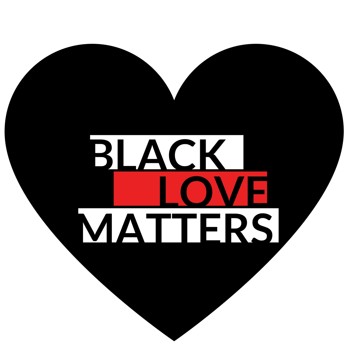 Black Love Matters show art