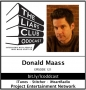 Artwork for The Liars Club Oddcast # 121 | Donald Maass, Literary Agent and Author
